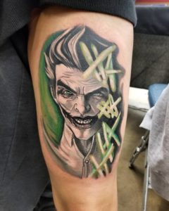 hollis-cantrell-iconic-tattoo-ink-joker-comic-color