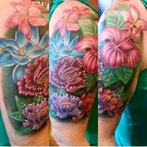 hollis-cantrell-iconic-tattoo-ink-piercing-color-flowers